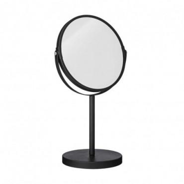 Miroir Milde noir métal