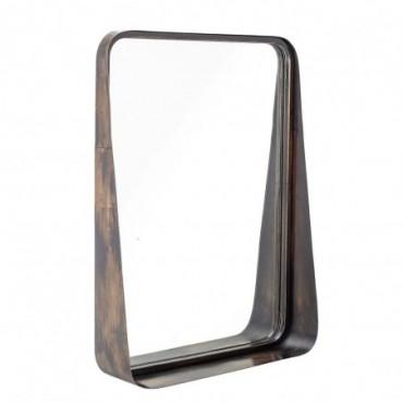 Miroir Noir Métal
