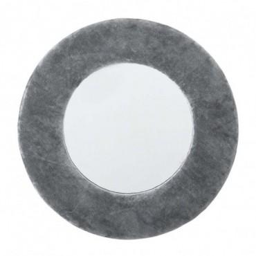 Miroir Zoyla gris coton