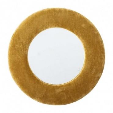 Miroir Zoyla jaune coton