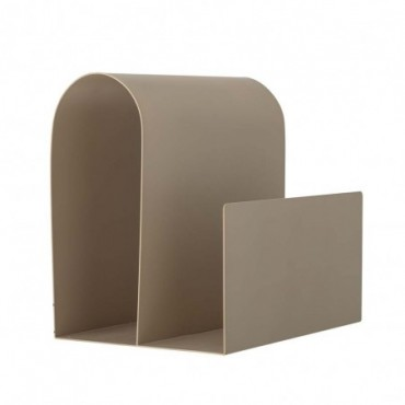 Porte-revues Enya marron métal