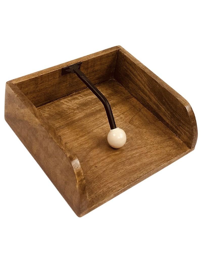 Porte serviette en bois