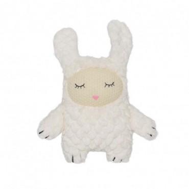 Benjamin en peluche lapin blanc polyester