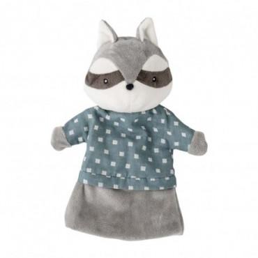 Marionnette à main Cecilie gris polyester