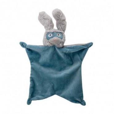 Couverture confort Elroy bleu polyester
