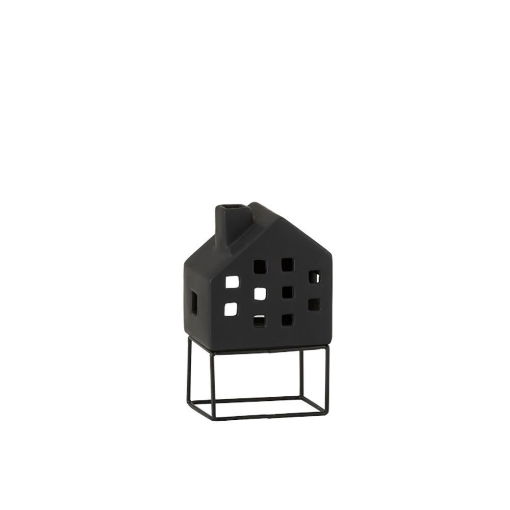 Maison Moderne Porcelaine Noir Medium