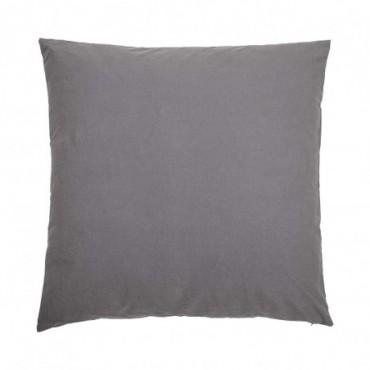 Coussin Ibe gris coton