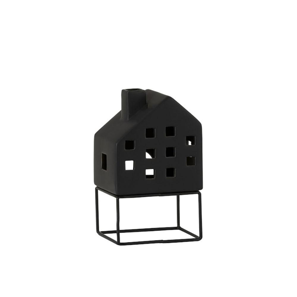 Maison Moderne Porcelaine Noir Large