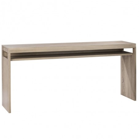 Console 1 planche bois metal naturel