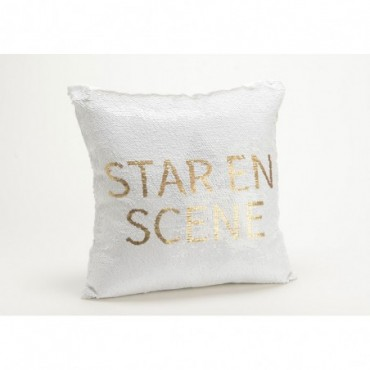 Coussin Sequins Star 40X40