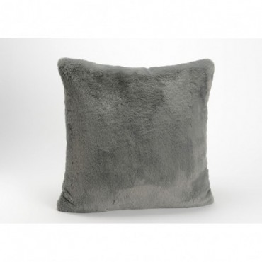 Coussin Luxe Anthracite 50X50