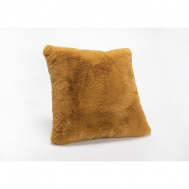 Coussin Luxe Camel 50X50