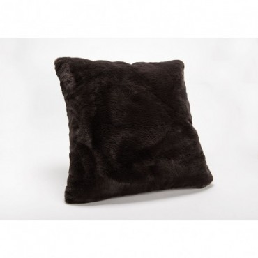 Coussin Luxe Chocolat 50X50