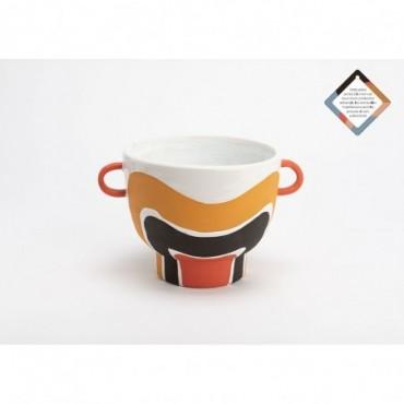 Vase Coupe En Terracotta Aria