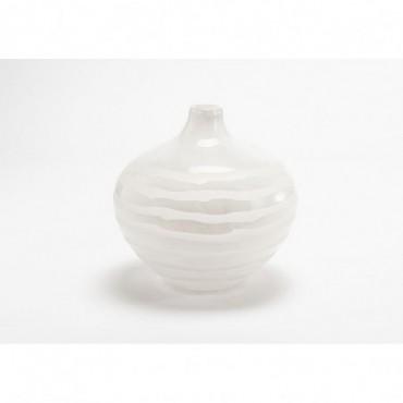 Vase Antarctica Hauteur 21 Cm Blanc