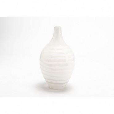 Vase Antarctica Hauteur 32 Cm Blanc