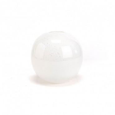 Vase Boule Graciosa Diamètre 20 Cm Blanc