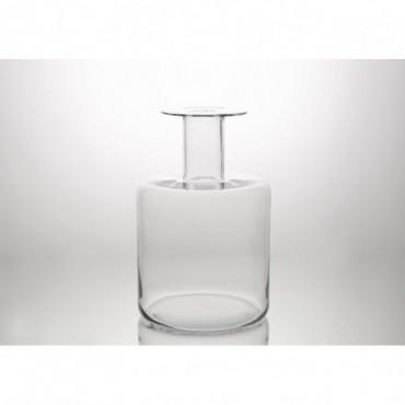 Vase Bouteille Design Hauteur 40 Cm Transparent