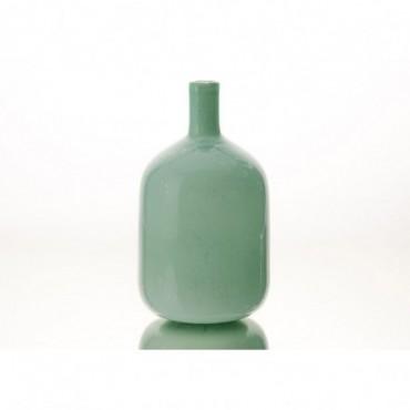 Vase Bouteille Graciosa Hauteur 29 Cm Vert