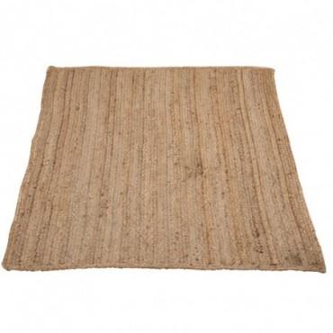 Tapis rectangle jute naturel 120x180cm