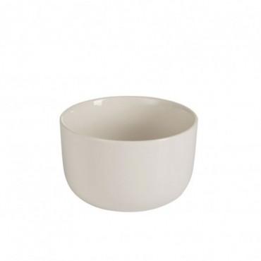 Bol rebord porcelaine blanc small