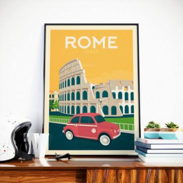 Affiche Rome - 50x70 cm