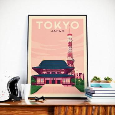 Affiche Tokyo - 50x70 cm