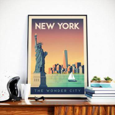 Affiche New York - 50x70 cm