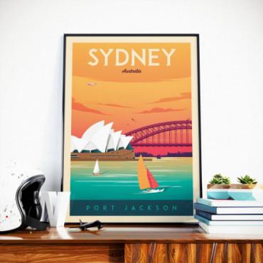 Affiche Sydney - 50x70 cm