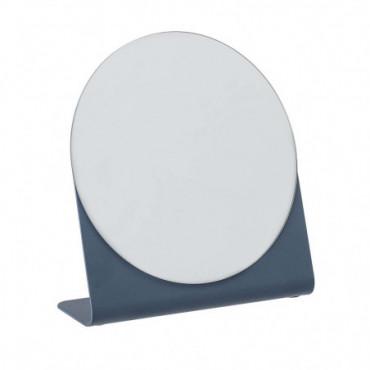 Miroir Hazhin Bleu Métal