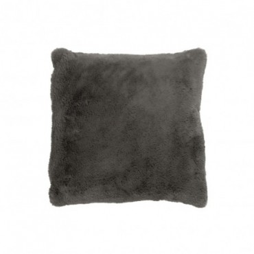 Coussin cutie polyester gris fonce