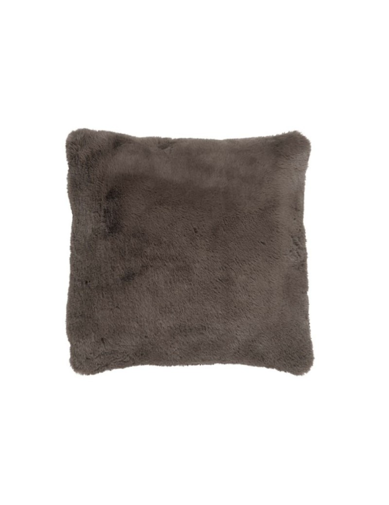 Coussin cutie polyester taupe
