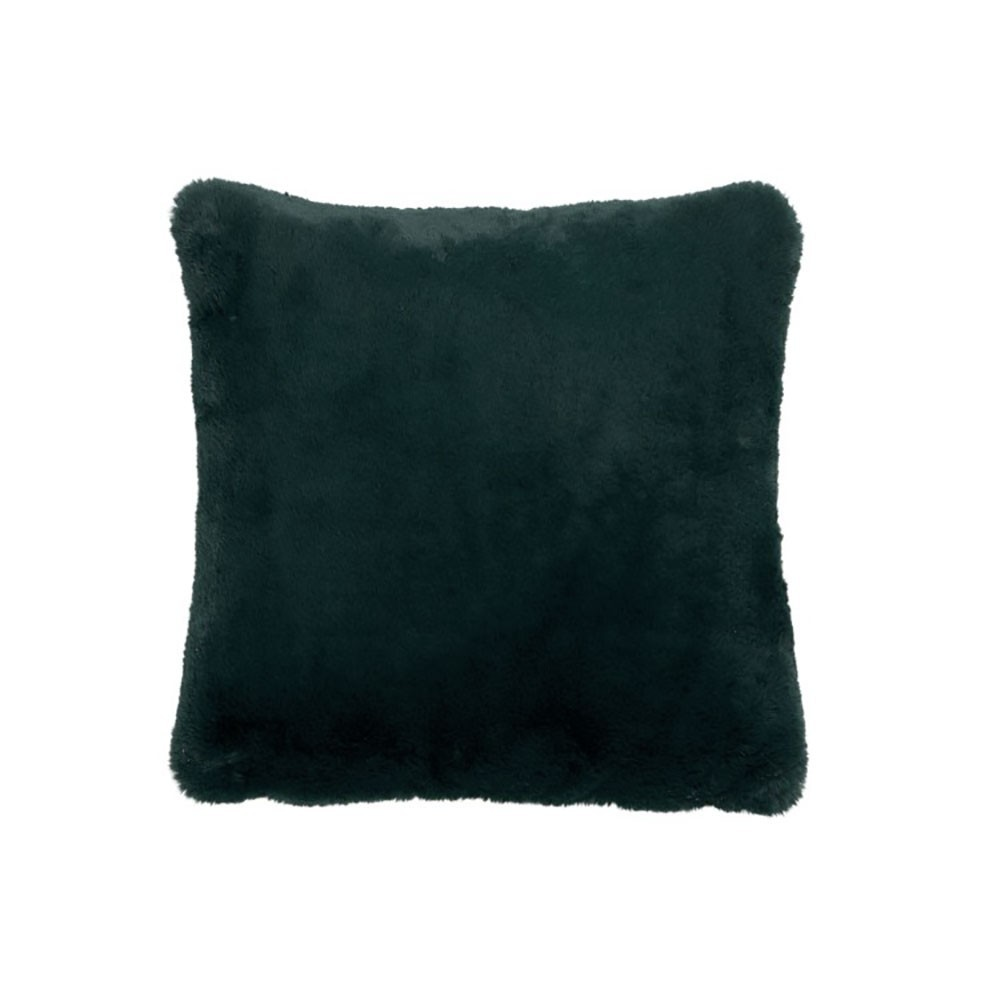 Coussin cutie polyester vert fonce