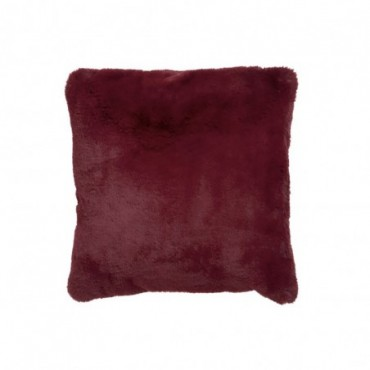 Coussin cutie polyester rouge
