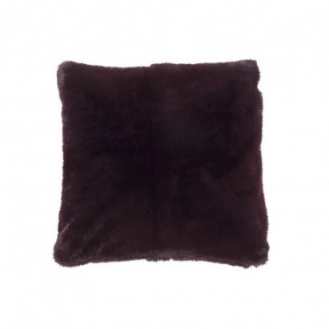 Coussin cutie polyester rouge fonce