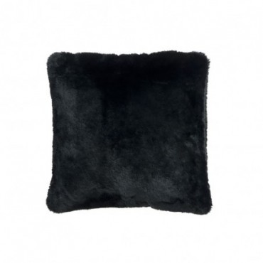 Coussin cutie polyester noir