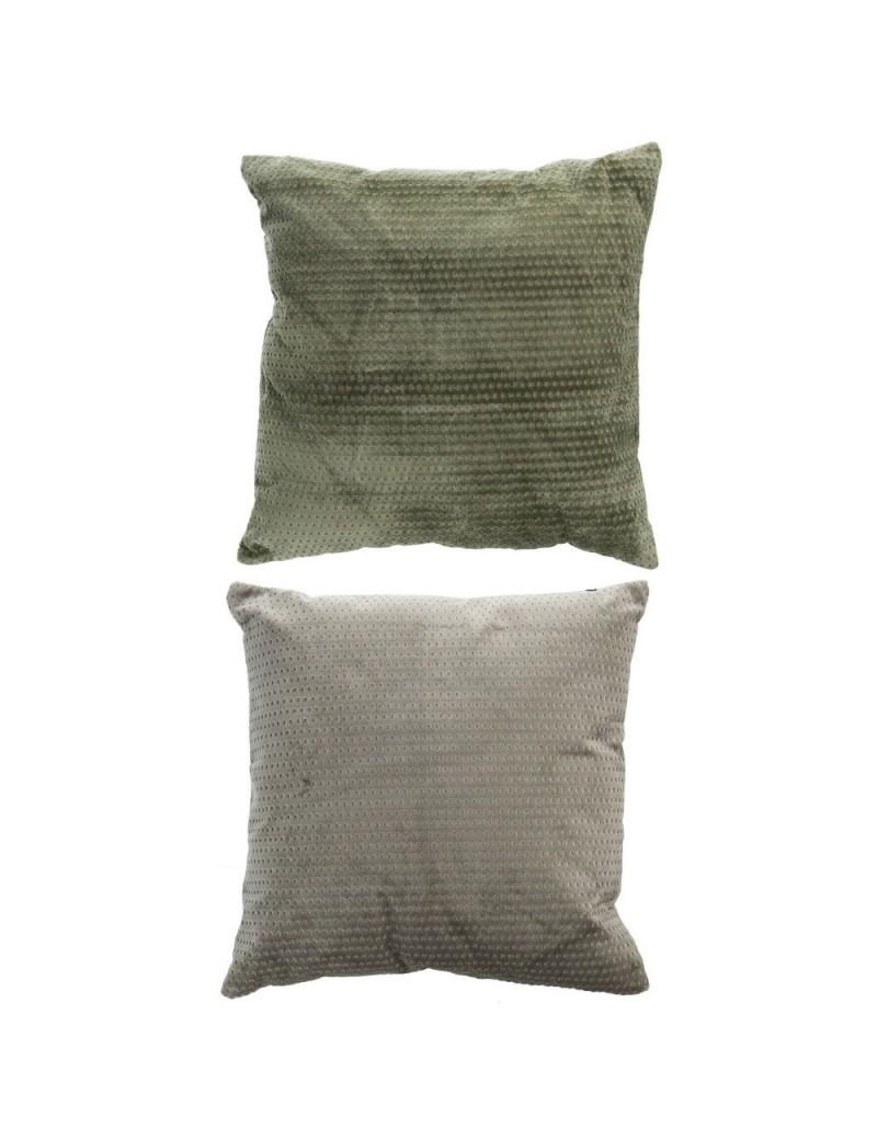 Coussin velours vert assortiment de 2