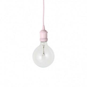 Lampe Suspendu Rose Métal