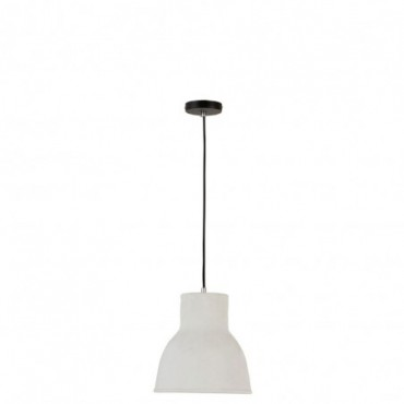 Lampe Suspendue Ceramique Blanc Small