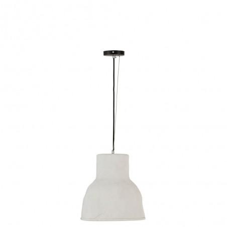 Lampe Suspendue Ceramique Blanc Large