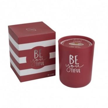 Bougie parfumee beyoutiful rouge medium 80 heures