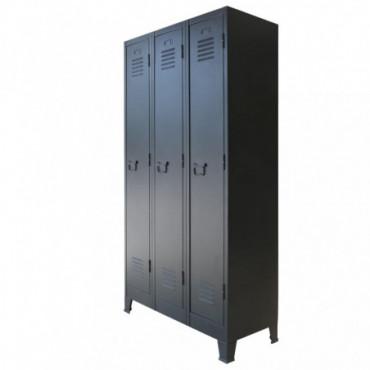 Armoire Style Industriel En Métal Hauteur180 Cm