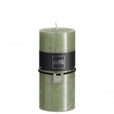 Bougie cylindrique khaki l -70h