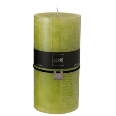Bougie cylindrique pomme xxl -140h