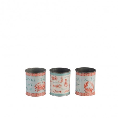 Pot homard metal mix assortiment de 3