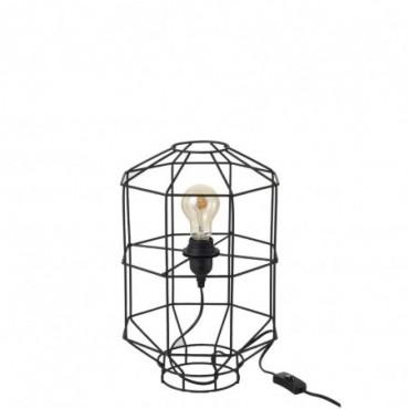 Lampe Ouverte Metal Noir Small