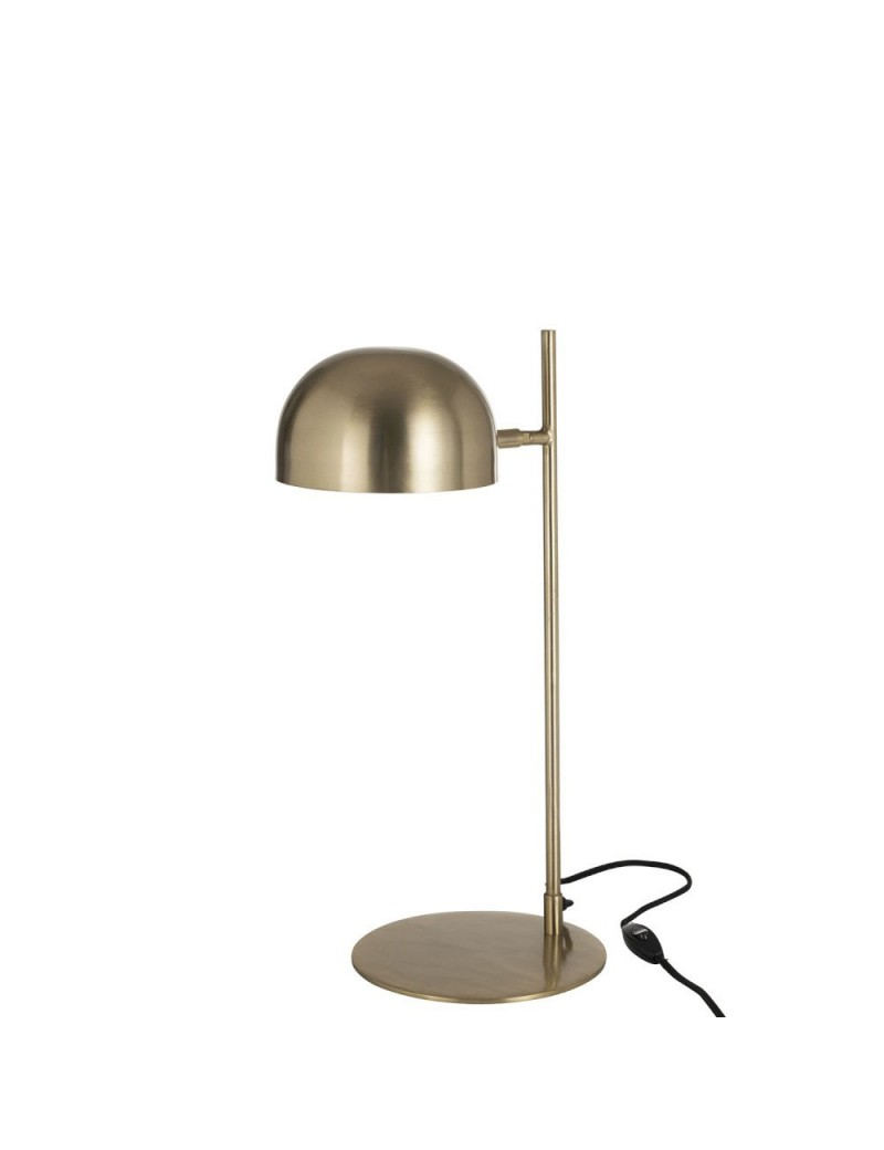 Lampe De Bureau Luna Metal Or