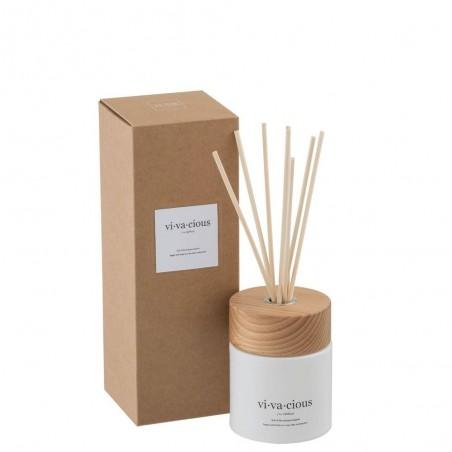 Huile Parfumee+Batons Vivacious Blanche/Naturel