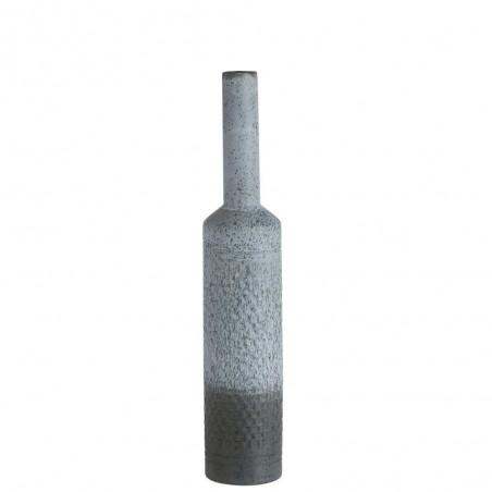 Vase Motifs Ceramique Bleu Small