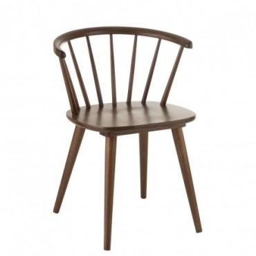 Chaise Vintage Bois Marron